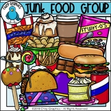 Junk Food Group Clip Art - Chirp Graphics