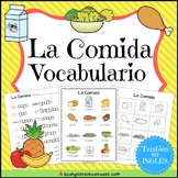 La Comida Vocabulario {Food Vocabulary Pack in Spanish}