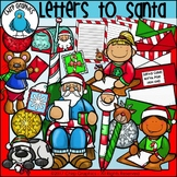 Letters to Santa Clip Art Set - Chirp Graphics