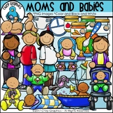 Moms and Babies Clip Art - Chirp Graphics