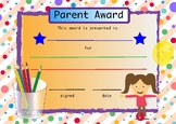 Parent Helper Award
