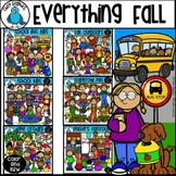 Everything Fall Clip Art Bundle - Chirp Graphics