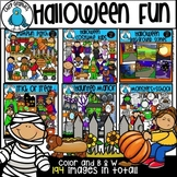 Halloween Fun Clip Art Bundle - Chirp Graphics