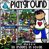 Playground Clip Art Bundle - Chirp Graphics