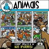 {40% off!} Animals Clip Art Bundle - Chirp Graphics