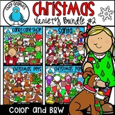 Christmas Clip Art Variety Bundle #2 - Chirp Graphics