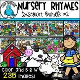 Nursery Rhyme Clip Art Bundle 2 - Chirp Graphics