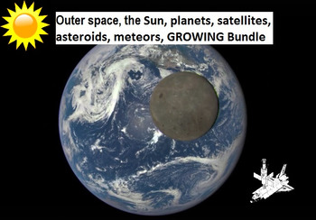 (45% off retail) Outer space Sun, planets, satellites, asteroids GROWING bundle!