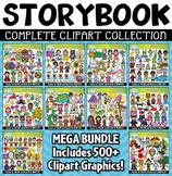 {FLASH DEAL} Famous Storybook Clipart Mega Bundle