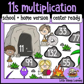 Multiplication Game: Eleven Times Table Knock Out