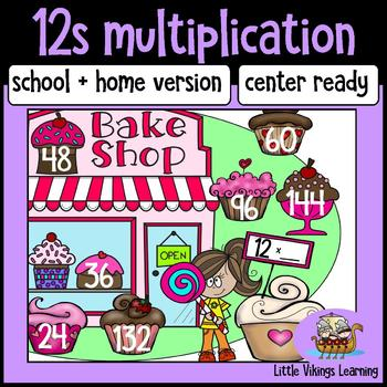 Multiplication Game: Twelve Times Table Knock Out