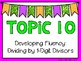 (4th Grade) Envision Math Vocabulary Posters: Topic 10