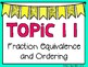 (4th Grade) Envision Math Vocabulary Posters: Topic 11