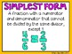 (4th Grade) Envision Math Vocabulary Posters: Topic 12