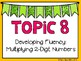 (4th Grade) Envision Math Vocabulary Posters: Topic 8