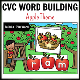 Fall Apple Themed CVC Word Building Pack