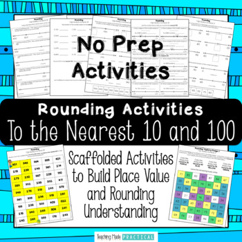 Rounding Numbers Activities - Rounding to the Nearest 10 and 100