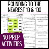Teaching Rounding Activities - Rounding to the Nearest 10 and 100