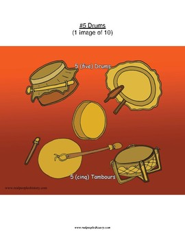 #5 Drums, First Nations, Numbers
