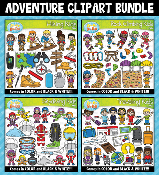 Adventure Clipart Mega Bundle ($20.00 Value)