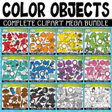Color Objects Clipart Mega Bundle {Zip-A-Dee-Doo-Dah Designs}
