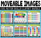 Fine Motor Skills Moveable Clipart Bundle for Paperless Zi