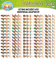 Game Board Supply Hands Instruction Icons Clipart {Zip-A-Dee-Doo-Dah Designs}