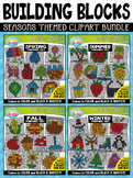 Seasons Building Blocks Clipart Mega Bundle {Zip-A-Dee-Doo-Dah Designs}