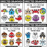Seasons Directed Drawing / Learn To Draw Mega Bundle {Zip-A-Dee-Doo-Dah Designs}