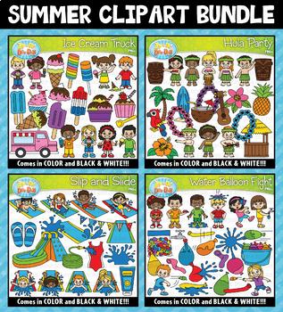 Summer Clipart Mega Bundle ($20.00 Value)
