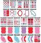 Valentine's Day Decor Party Pack {Zip-A-Dee-Doo-Dah Designs}