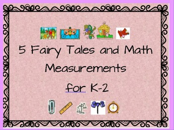 """"""" 5 Fairy Tales Read-Alouds to Teach Math Measurements"""" +"""