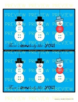5 Snowman Dayz for Staff Appreciation (Principals/Activity Leaders)
