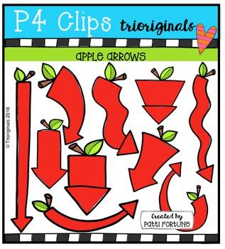 Apple Arrows {P4 Clips Trioriginals Digital Clip Art}