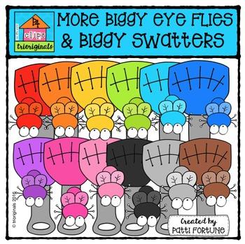 Biggy Head Flies and Biggy Long Swatters {P4 Clips Trioriginals}