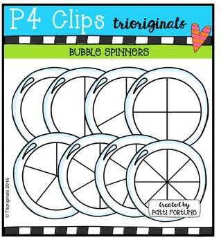Bubble Spinners {P4 Clips Trioriginals Digital Clip Art}
