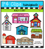 Build a City and Beyond {P4 Clips Trioriginals Digital Clip Art}
