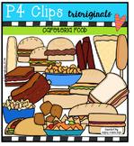 Cafeteria Food  {P4 Clips Trioriginals Digital Clip Art}