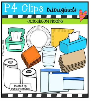 Class Needs {P4 Clips Trioriginals Digital Clip Art}