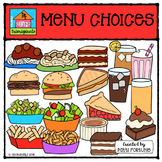 Create a Menu Choices {P4 Clips Trioriginals Digital Clip Art}