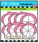 Cupcake Spinners {P4 Clips Trioriginals Digital Clip Art}