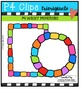 Month Blocks {P4 Clips Trioriginals Digital Clip Art}