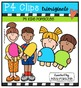 P4 KIDS Popsicles {P4 Clips Trioriginals Digital Clip Art}