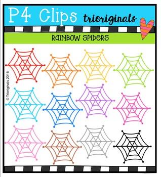 P4 RAINBOW Spiders (P4 Clips Trioriginals}