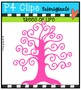 P4 RAINBOW Trees of Life {P4 Clips Trioriginals Digital Clip Art}