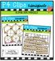 P4 SUPER SET Pencils  {P4 Clips Trioriginals Digital Clip Art}