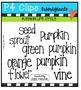 Pumpkin Life Cycle {P4 Clips Trioriginals Digital Clip Art}