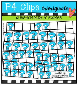 Question10 Frames  {P4 Clips Trioriginals Digital Clip Art}