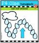 Rain Drop Spinners  {P4 Clips Trioriginals Digital Clip Art}