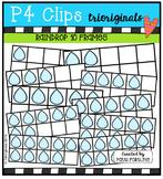 Raindrop 10 frames  {P4 Clips Trioriginals Digital Clip Art}